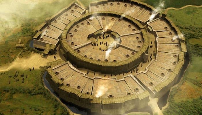 Аркаим - древний город