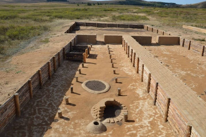 Аркаим древнй город