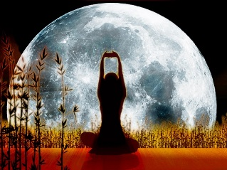 Лунное затмение и женский организм