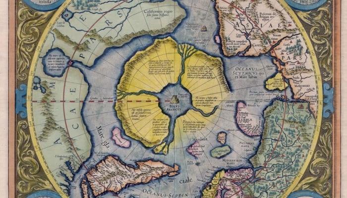 Гиперборея - Карта Меркатора