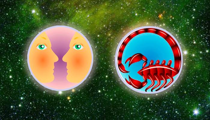 Близнецы-Скорпион совместимость