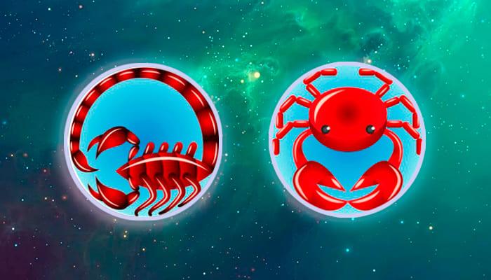 Скорпион-Рак совместимость