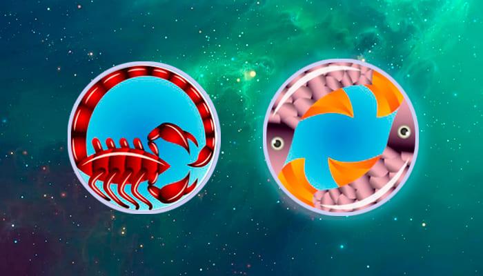 Скорпион-Рыбы совместимость