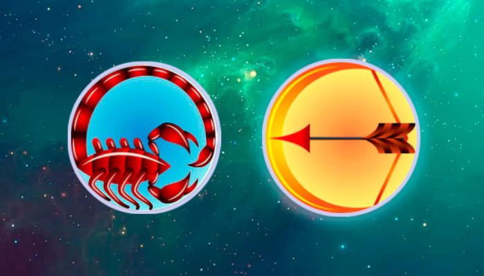 Скорпион-Стрелец совместимость