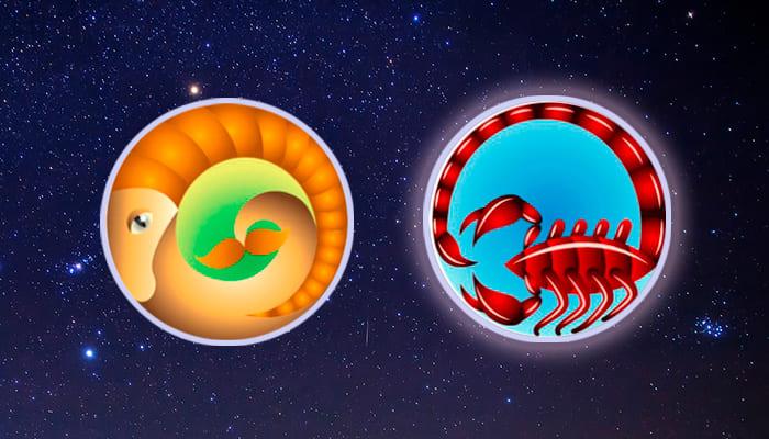 Козерог-Скорпион совместимость