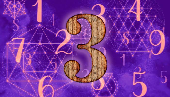 Число 3 в нумерологии