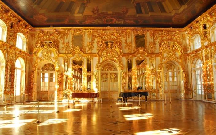 Воссоздание Янтарной комнаты
