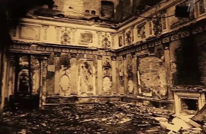 Янтарная комната во время войны